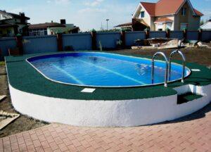 покрытие для бассейнов