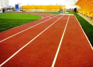 Спортивное покрытие для стадиона «Маснипур»