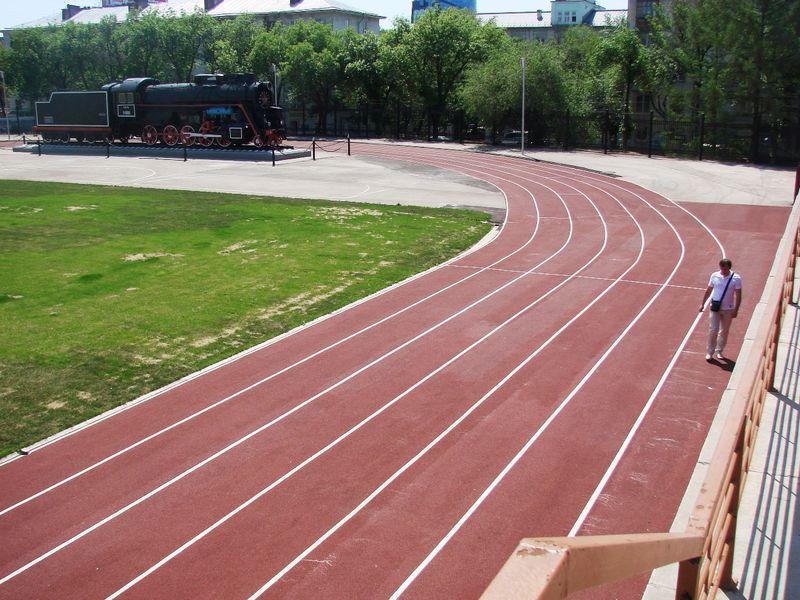 спортивное покрытие Гумибо-спорт