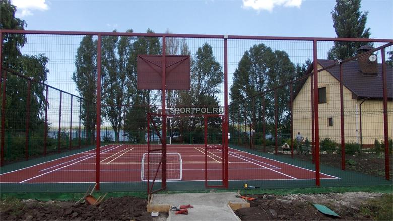 частная универсальная спортивная площадка в с. владимировка