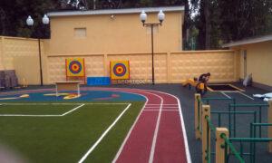 детская спортивная площадка