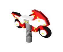 ИО 242 Качалка на пружине Мотоцикл