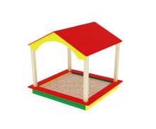 ИО 534 Песочный дворик домик