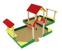 ИО 537 Песочный дворик большой