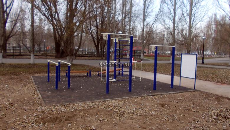площадка гто в парке гагарина, г. самара